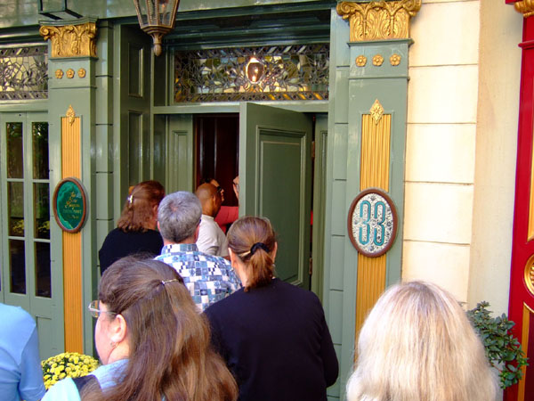 New Orleans Square Disneyland Club 33 in New Orleans Square