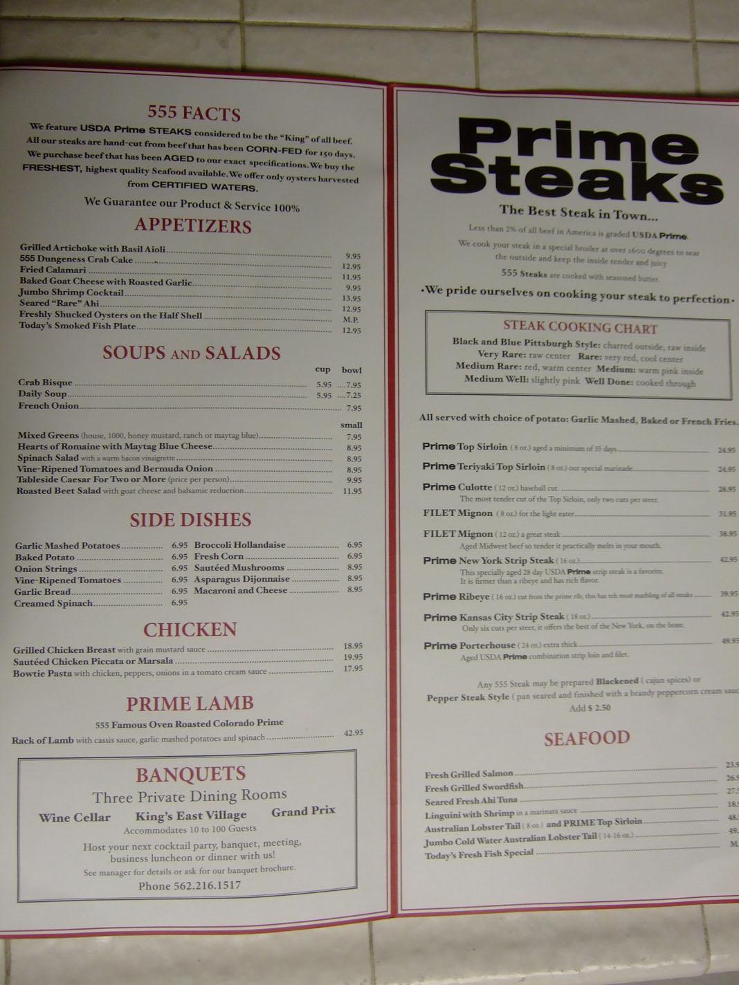 Steak House In Long Beach Part - 50: 555 East (Long Beach, CA)