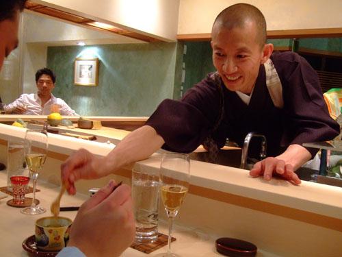 Hiro-san Mixes Aaron's Chawanmushi