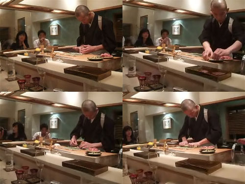 Hiro-san Makes a Negi-Toro Maki Roll...