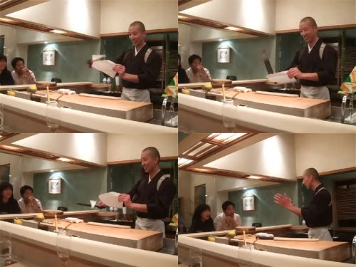 Hiro-san Demonstrates His $2,000 Hamo Honegiri Knife