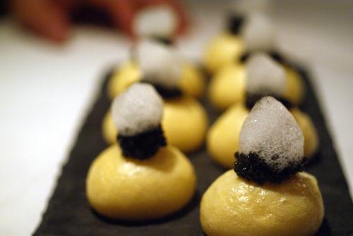 Caviar Steamed Bun