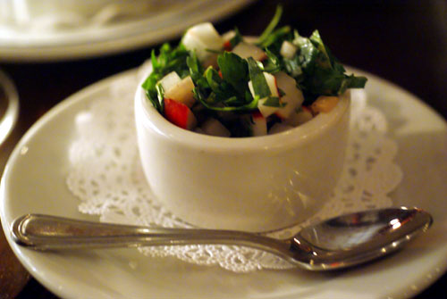 Radish and Parsley Salad