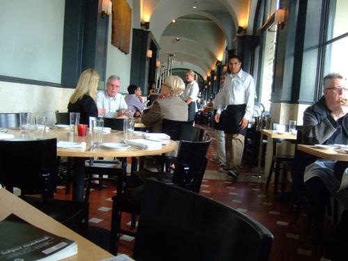 Pizzeria Ortica Interior