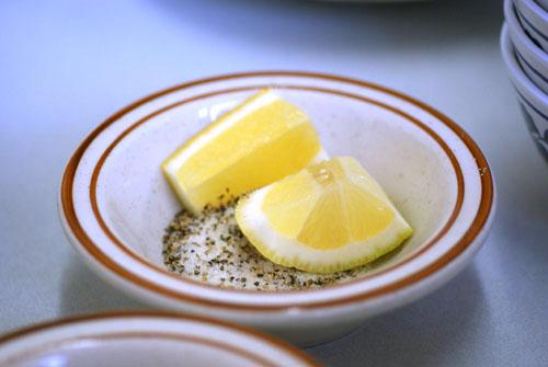 Salt, Pepper, Lemon