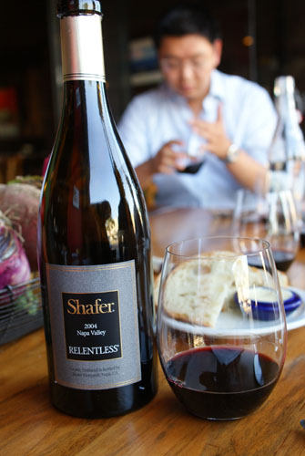 2004 Shafer Relentless Syrah