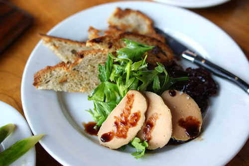 Duck Liver Pate with Cherry Compote