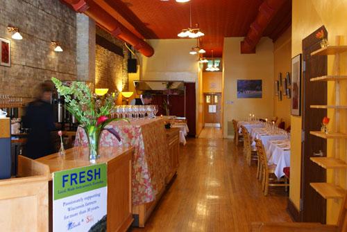 Café Soleil Interior