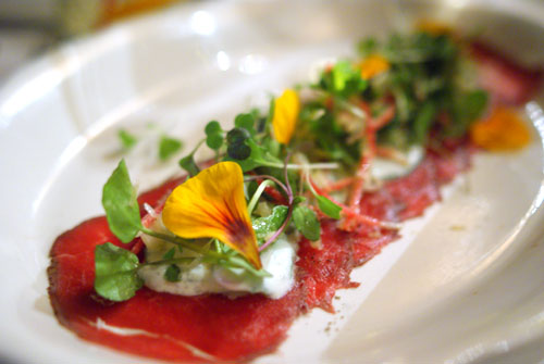 Cherokee Farm Bison Carpaccio