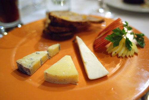 Selection of Wisconsin Artisan Cheeses