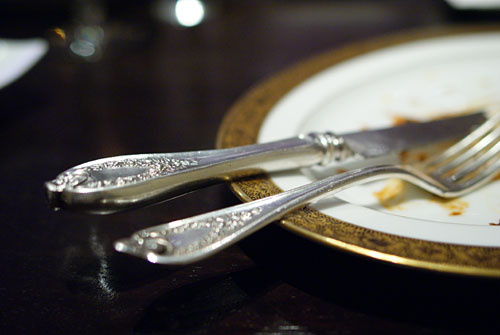 Ornate Silverware