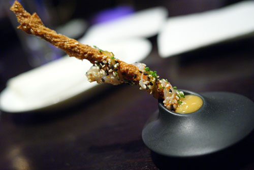 YUBA | shrimp, miso, togarashi