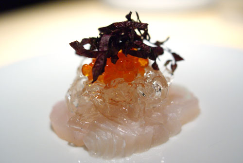 Medai | Salmon Roe, Shiso Flower