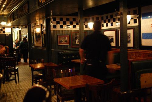 Pizzeria Uno Interior