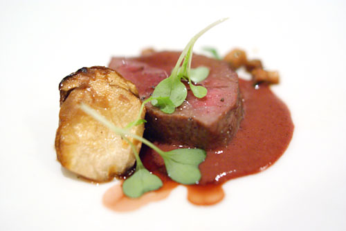 Grilled Bison with Porcini Mushrooms