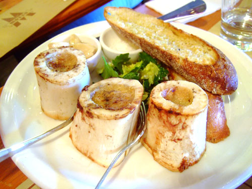 Bone marrow al forno